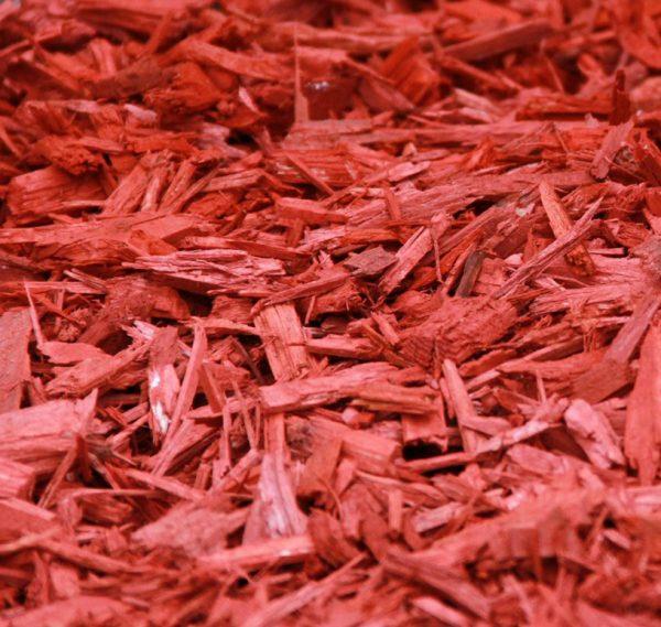 Scoarta decorativa rosie