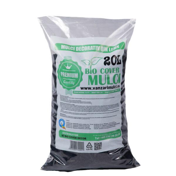 Mulci Negru - 3 saci de 20L