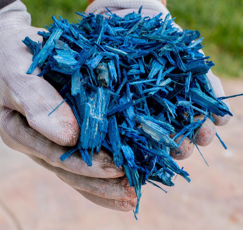 Mulci Albastru - 6 saci de 20L