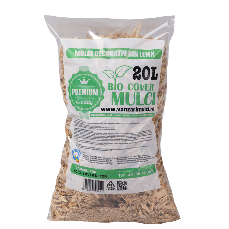 Mulci Natur - 3 saci de 20L